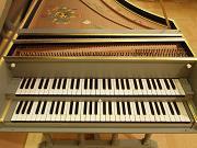 M. スコヴロネック(1963年)作 フレミッシュニ段鍵盤チェンバロ