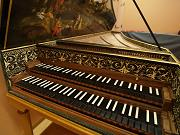 G. カルマン(1996年)作 フレミッシュニ段鍵盤チェンバロ